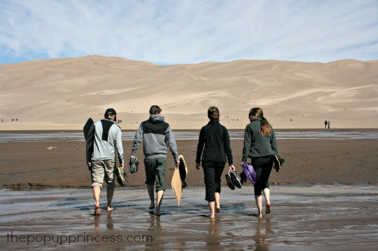 Medano Creek Sand Dunes
