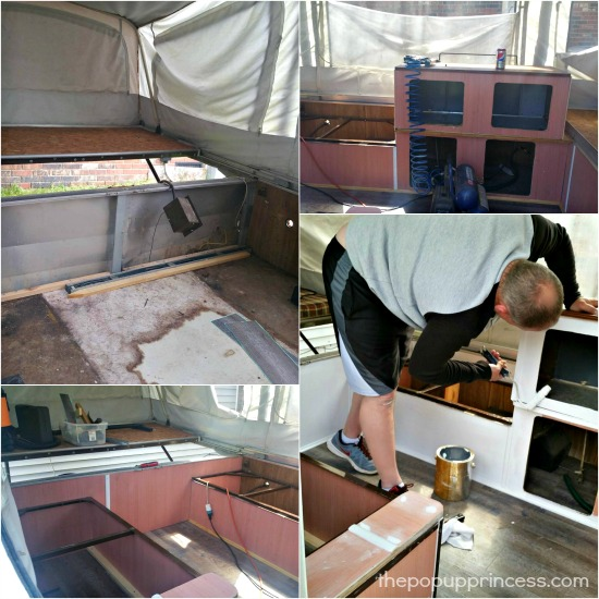 Shannon Amp Chad S Pop Up Camper Makeover The Pop Up Princess