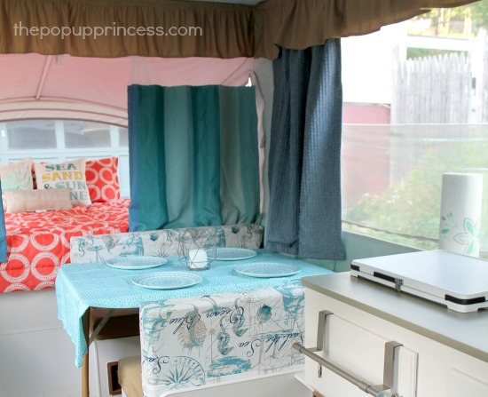 Pop Up Camper Curtains