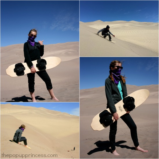 Sand Sledding Great Dunes