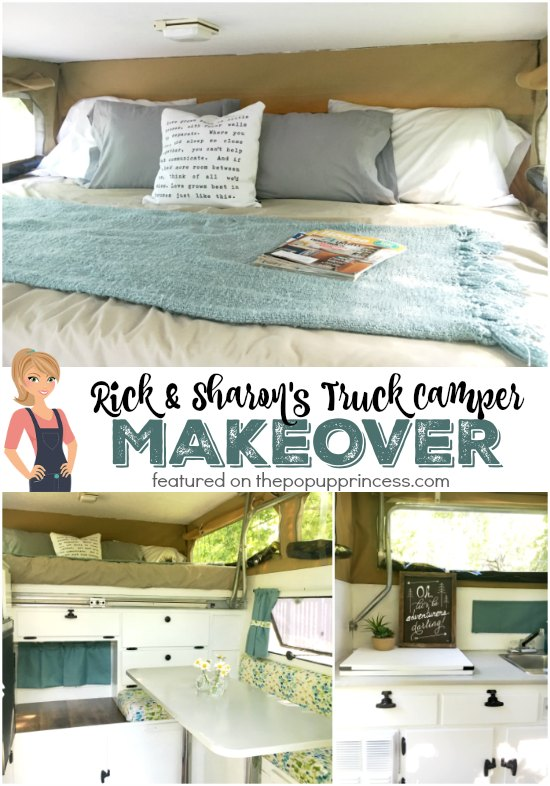 Rick & Sharon's Truck Pop Up Camper Makeover - The Pop Up