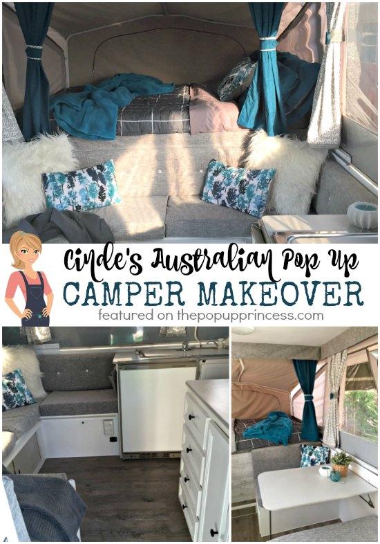 Cinde S Australian Pop Up Camper Makeover The Pop Up