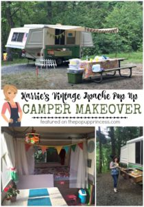 Apache Pop Up Camper Remodel