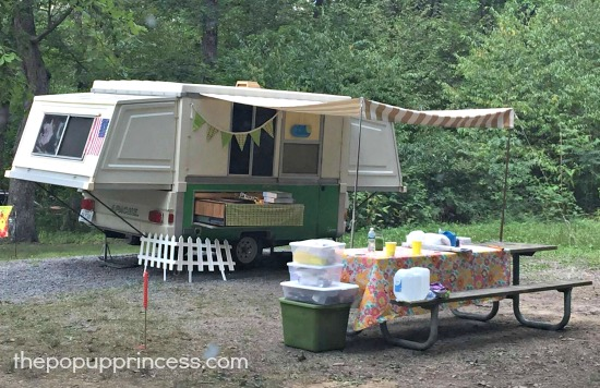 Karrie's Apache Pop Up Camper Makeover - The Pop Up Princess