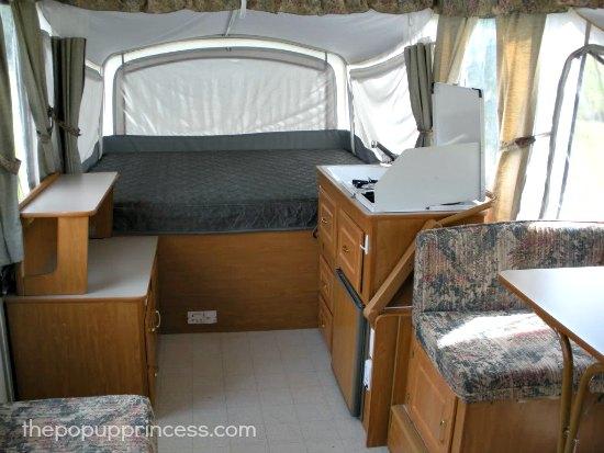 Pop Up Camper Before