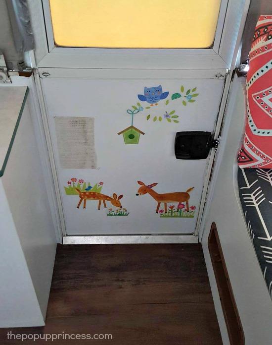 Pop Up Camper Door