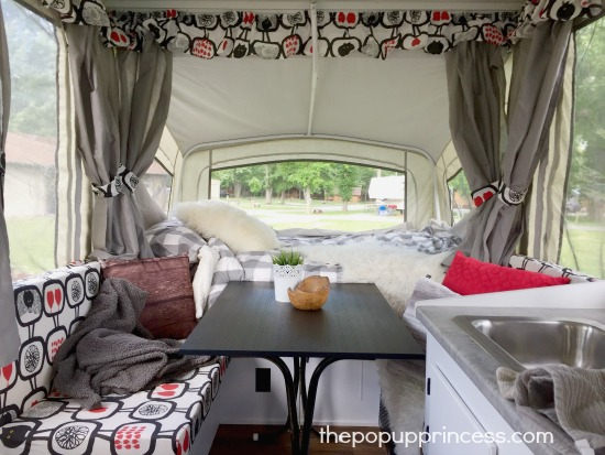 Marie-Andree's Pop Up Camper Makeover - The Pop Up Princess