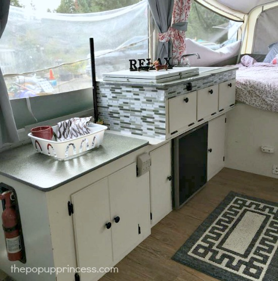 Pop Up Camper Kitchen