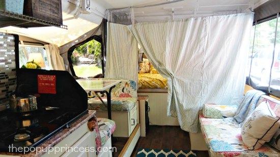 Pop Up Camper Privacy Curtain
