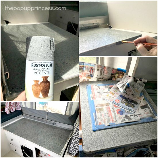 Tent Trailer Countertops