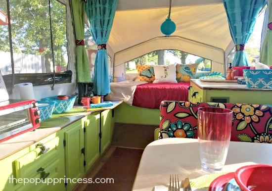 Pop Up Camper After