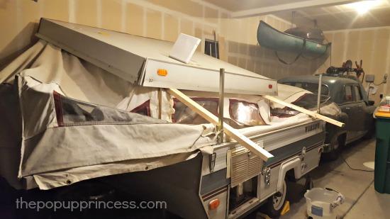 Pop Up Camper Collapse