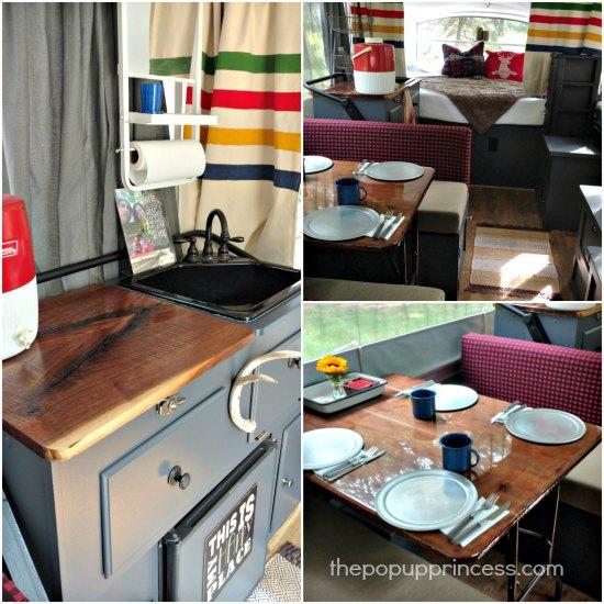 Pop Up Camper Countertops