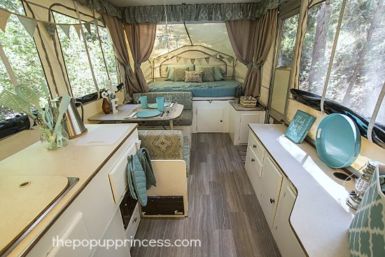 Pop Up Camper Flooring
