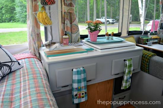 Pop Up Camper Kitchen