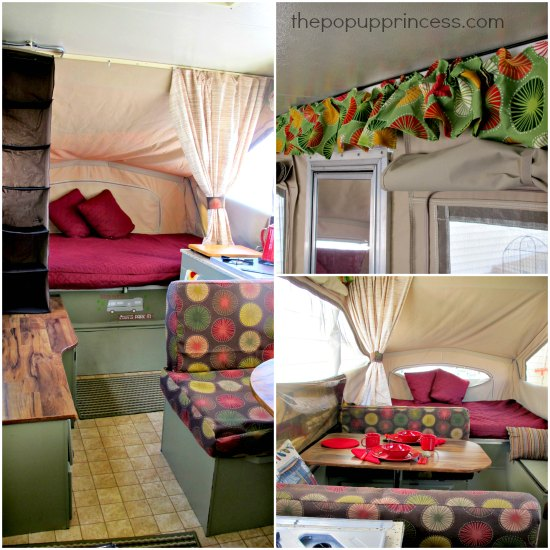 Jeannine S Pop Up Camper Makeover The Pop Up Princess
