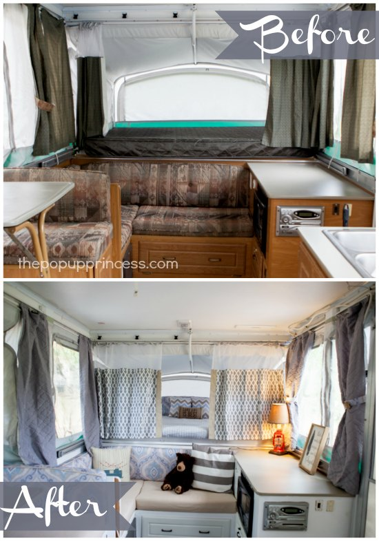Jill 39 S Pop Up Camper Makeover The Pop Up Princess