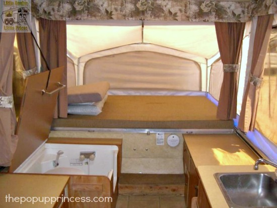 Pop Up Camper Bathroom