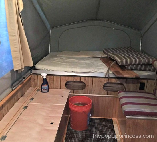 Pop Up Camper Cleaning