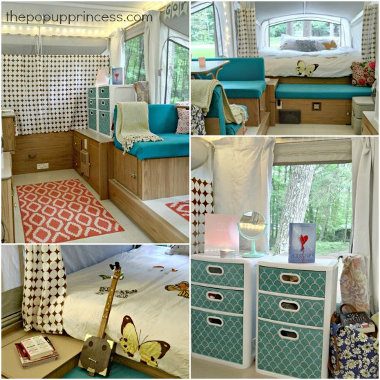 Pop Up Camper Collage