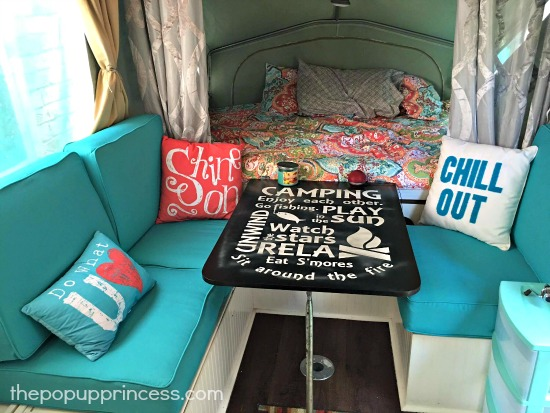 Dawn S Bohemian Pop Up Camper The Pop Up Princess