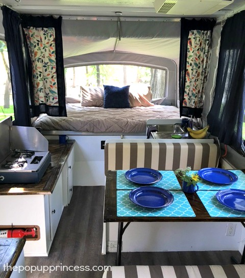 Superb Awesome Picture Of Pop Up Camper Interior Design Fabulous Homes