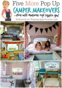 Five {More} Pop Up Camper Makeovers to Inspire You