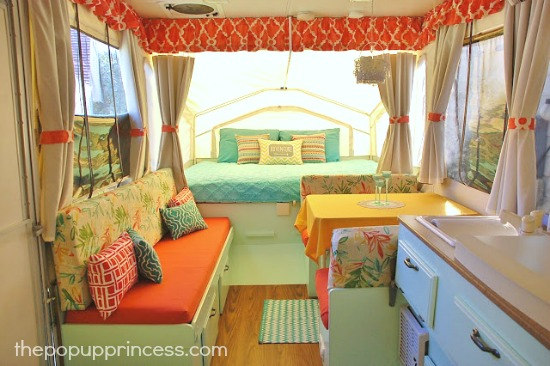 Tropical Pop Up Camper