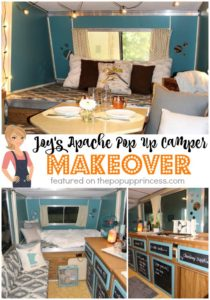 Joy's Apache Pop Up Camper Makeover