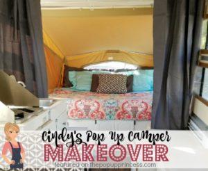 Cindy's Pop Up Camper Makeover