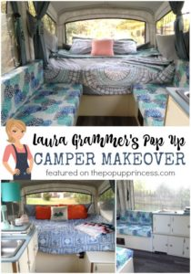 Laura Grammer's Pop Up Camper Makeover