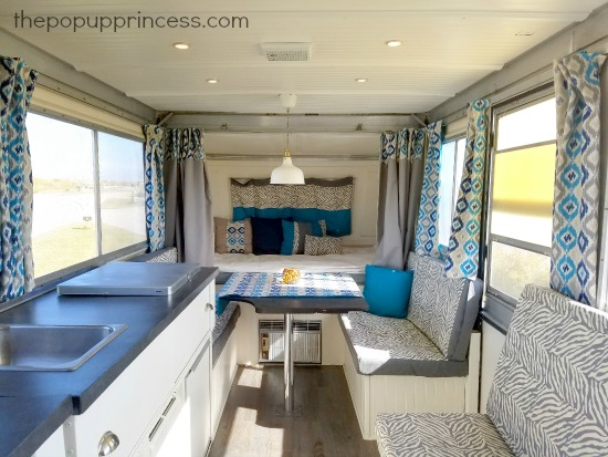 Robyn S Pop Up Camper Makeover The Pop Up Princess