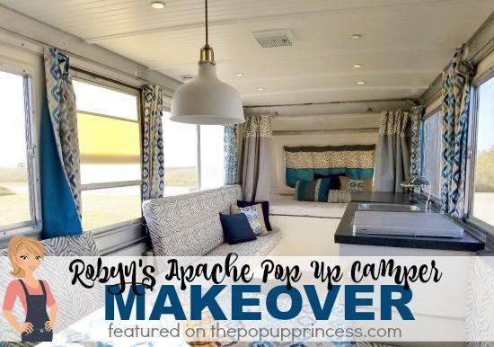 Apache Pop Up Camper Makeover