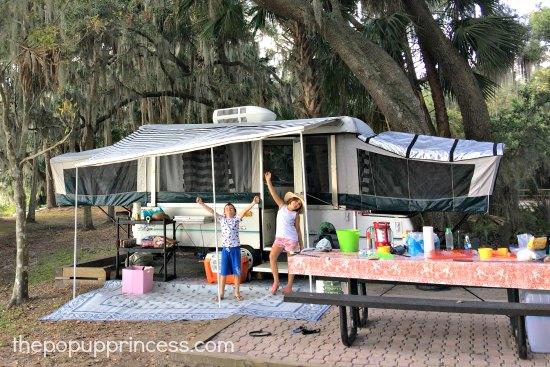 Pop Up Camping : Katie s pop up camper makeover the princess