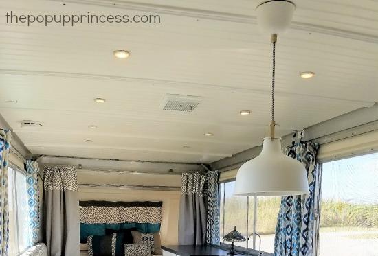 pop up camper ceiling