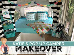 Katie's Pop Up Camper Makeover