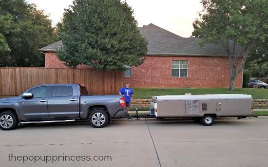 Towing Pop Up Camper