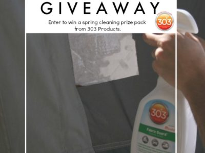 Giveaway Time!  Win a Spring Cleaning Prize Pack From 303 Products