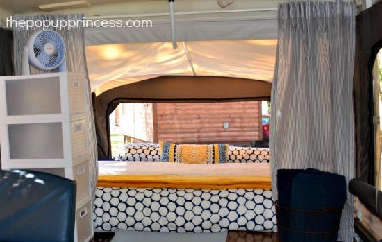 Lisa Evano S Pop Up Camper Makeover The Pop Up Princess