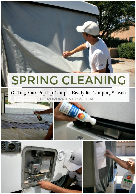 Cleaning Pop Up Camper