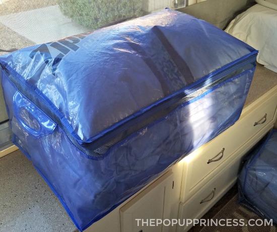 Pop Up Camper Bedding