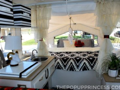 Jen & Jesse's Pop Up Camper Makeover