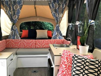 Lori & Nick's Pop Up Camper Makeover