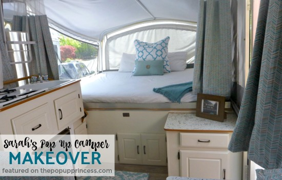 Sarah S Pop Up Camper Makeover The Pop Up Princess