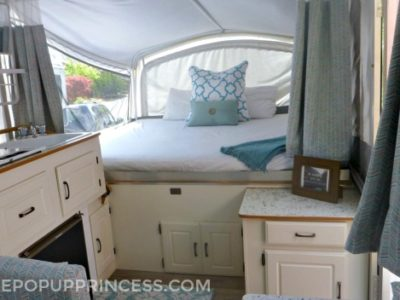 Sarah's Pop Up Camper Makeover