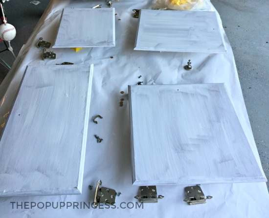 Paint Camper Cabinets