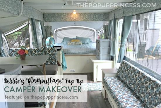 Pop Up Camper Makeover