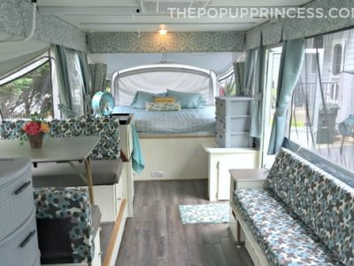 Debbie's Pop Up Camper Makeover