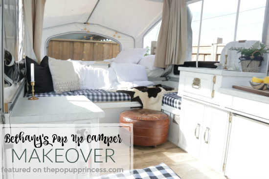 Bethany's Pop Up Camper Makeover - The Pop Up Princess