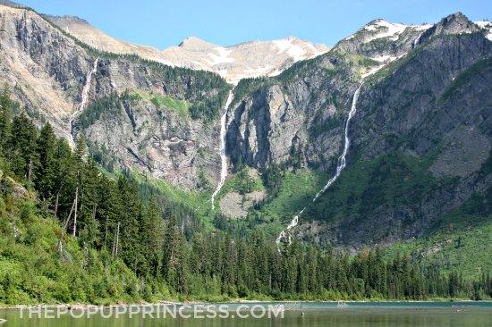 Glacier Avalanche Lake